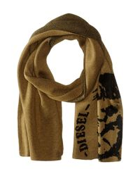 DIESEL - Green 00sckk 0nabqk Dubo Scarf for Men - Lyst