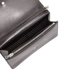 Givenchy - Black Studded Colorblock Wallet On Chain - Lyst