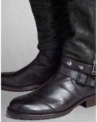 Belstaff - Black Telford Trousers for Men - Lyst
