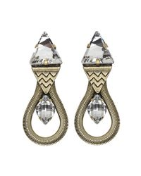 Lionette | Metallic Mirella Earrings | Lyst