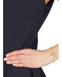 KENZO | Metallic Gold Tone Cut-Out Tiger Bracelet | Lyst
