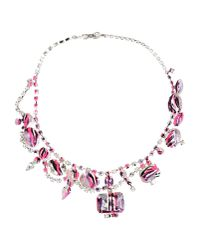 Tom Binns - Purple Necklace - Lyst
