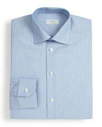 Eton of Sweden - Blue Mini Dot Dress Shirt - Regular Fit for Men - Lyst