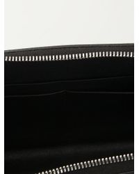 Rick Owens - Black Long Zip Around Clutch - Lyst
