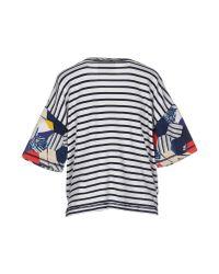 Erika Cavallini Semi Couture - Natural Sweatshirt - Lyst