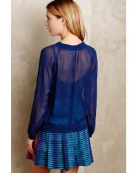 Anthropologie - Blue Anisy Pullover - Lyst