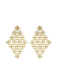Mallarino - Metallic Isabel Earrings - Lyst