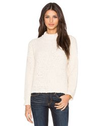 Tejido | Natural Waffle Turtleneck | Lyst
