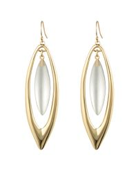 Alexis Bittar | Metallic Gold Marquis Orbiting Earring You Might Also Like | Lyst