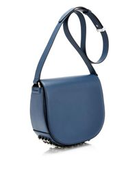 Alexander Wang - Blue Lia Leather Cross-Body Bag - Lyst