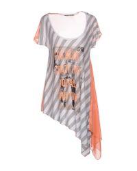 GAUDI - Gray T-shirt - Lyst