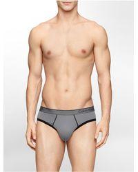 Calvin Klein | Gray Underwear Ck One Micro Hip Brief for Men | Lyst