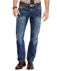 Polo Ralph Lauren - Blue Hampton Straight-Fit Jeans for Men - Lyst