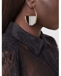 Aurelie Bidermann - Metallic 'bianca' Hoop Earrings - Lyst