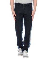 Diesel Black Gold - Black Denim Pants for Men - Lyst