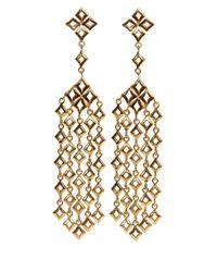 Dinny Hall - Metallic Large Gold Vermeil Almaz Multi Drop Earrings - Lyst