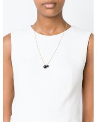 Isabel Marant - Metallic Two Pendant Necklace - Lyst