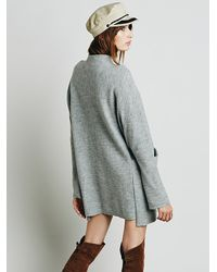 Free People | Gray Zoe Swit Dress | Lyst