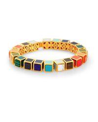 Eddie Borgo | Multicolor Small Cube Bracelet | Lyst