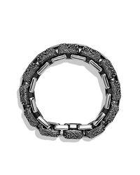 David Yurman | Metallic Waves Large Link Bracelet for Men | Lyst