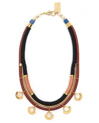 Lizzie Fortunato - Metallic Cut Out Necklace - Lyst
