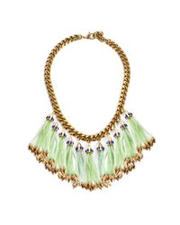 Lulu Frost | Green Nomadic Statement Necklace - Mint | Lyst