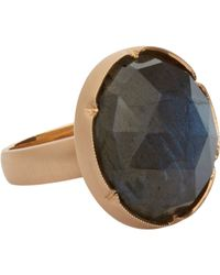 Irene Neuwirth | Metallic Women's Rainbow Moonstone Ring | Lyst