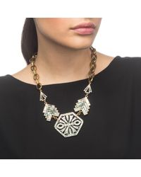 Lulu Frost - Metallic Ortigia Statement Necklace - Lyst