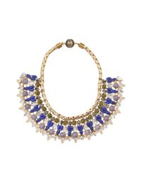 Tataborello - Blue Isidora Necklace - Lyst