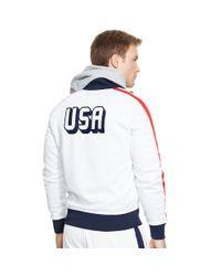 Ralph Lauren | White Usa Track Jacket for Men | Lyst