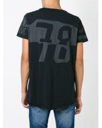 DIESEL - Black 'trigob' T-shirt for Men - Lyst