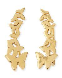 Jennifer Zeuner | Metallic Symone Butterfly Earring Cuffs | Lyst