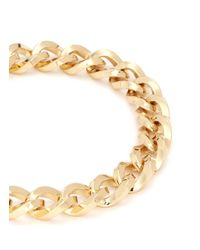 Kenneth Jay Lane | Metallic Thick Twist Chain Necklace | Lyst