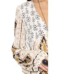 Free People - White Down By The Bay Dress - Lyst