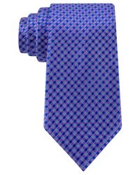 Michael Kors | Purple Michael Verona Pick Solid Tiles Tie for Men | Lyst