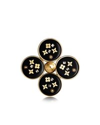 Louis Vuitton | Black Inclusion Brooch | Lyst