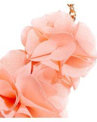 H&M - Pink Flower Necklace - Lyst