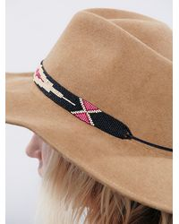 Free People - Natural Free Flying Beaded H - Lyst