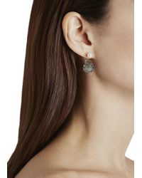 Katie Rowland | White Mercier Pearl And Labradorite Earrings | Lyst