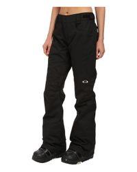 Oakley Black Tippy Toe Biozone Shell Pants