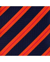 Thomas Pink - Blue Ford Stripe Woven Tie for Men - Lyst