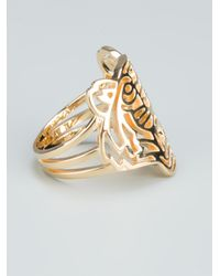 KENZO | Pink Tiger Ring | Lyst