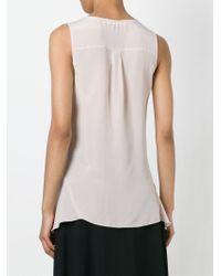 See By Chloé - Pink Asymmetric Hem Top - Lyst