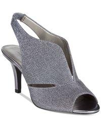 Bandolino | Blue Mirabella Slingback Dress Heels | Lyst