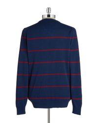 Ben Sherman   Blue Cotton Crewneck Sweater for Men   Lyst