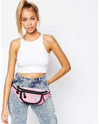 Hype - Speckled Bum Bag In Pink - Lyst