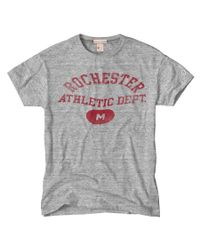 Todd Snyder | Gray Rochester Athletics T-Shirt for Men | Lyst