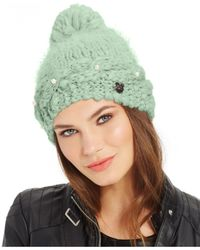 Betsey Johnson | Blue Pearly Girl Hat | Lyst