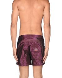 Sundek - Purple Swimming Trunk for Men - Lyst