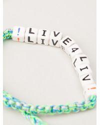 Venessa Arizaga | Green 'live 4 Liv' Bracelet | Lyst